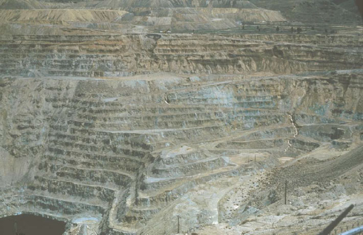 The Berkeley Pit in Butte, Montana, 1984