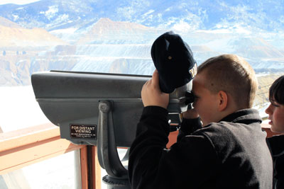Many students and teachers are learning about science by visiting the Berkeley Pit in Butte, Montana.